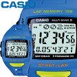 カシオ フィズ スポーツウオッチ 1000 ブルー 樹脂バンド 電波受信機能(マルチバンド6) タフソーラー 最大120本のラップメモリー CASIO PHYS FOR RUNNERS