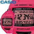 カシオ フィズ スポーツウオッチ 1000 ピンク 樹脂バンド 電波受信機能(マルチバンド6) タフソーラー 最大120本のラップメモリー CASIO PHYS FOR RUNNERS