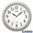 カシオ ウェーブセプター 壁掛け電波時計 1005J (シルバー) ◆2013年−2014年モデル