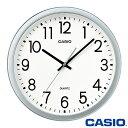 カシオ 壁掛け時計 77 (シルバー) アナログ スムーズ秒針 ◆2015年モデル