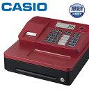 CASIO 電子レジスター SR-G3-RD レッド 1シート (ジャーナル) サーマル 4部門 Bluetoothレジスター