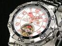 【J.HARRISON】パワーリザーブ自動巻き腕時計 JH-007WH