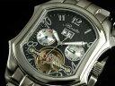 【BOSTA】古き良き時代を彷彿とさせるレトロなデザインボスタ オーバル型手巻き&自動巻き腕時計 BA-007M-BK