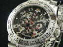 【J.HARRISON】 多機能両面スケルトン自動巻き腕時計JH-003RB