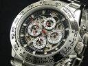 【J.HARRISON】 多機能両面スケルトン自動巻き腕時計JH-003SB