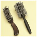 松鉱石によるマイナスイオン効果で、頭皮と髪に健康を・・・松鉱石マイナスイオン <ヘアブラシ2種セット>