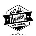 OFF ROADING FJ CRUISER FJクルーザー カッティング ステッカー バンパー マフラー カスタム パーツ / ステッカー 車 シール デカール / アメリカン USDM ミリタリー ワッペン エンブレム / アウトドア キャンプ 登山 オフロード 四駆 4WD / 10P05Aug17