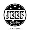 JEEP CUSTOM カッティング ステッカー ジープ jeep チェロキー ラングラー グランドチェロキー / ステッカー 車 シール デカール / USDM JDM スタンス ヘラフラ キャナビート ヘラフラッシュ カスタム アメ車 アメリカン / 10P05Aug17