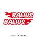 フレイム バリオス カッティング ステッカー 左右セット バリオス balius1 バリオス1 balius2 バリオス2 パーツ カワサキ / バイク ステッカーボム ステッカー デカール シール カスタム / ヘルメット サイドバッグ リアボックス