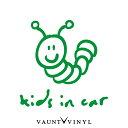 アオムシ KIDS IN CAR ステッカー 虫 あおむし 青虫 いもむし 芋虫 車 シール baby in car ベビーインカー kids in car キッズインカー 子供が乗っています 赤ちゃんが乗っています 双子 吸盤 マグネット シンプル おしゃれ オシャレ お洒落 文字