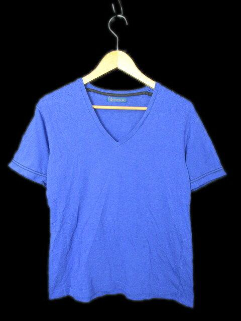 レイジブルー RAGEBLUE 半袖 Tシャツ カットソー 丸首 無地 M 青 ブルー メンズ/r □4 メンズ 【中古】【ベクトル 古着】 180510 ベクトル マークスラッシュ
