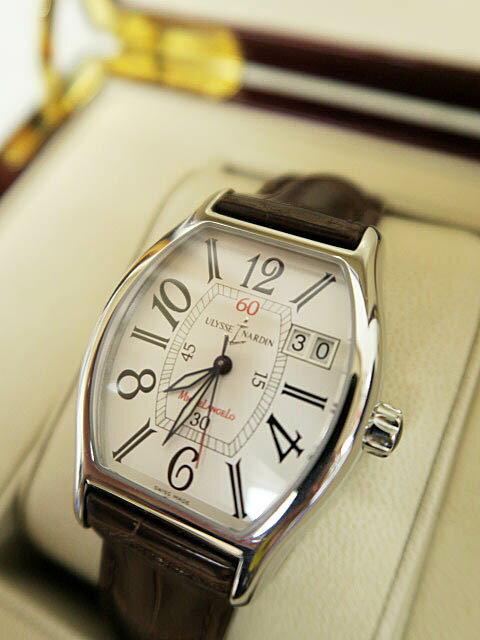 ユリスナルダン ULYSSE NARDINミケランジェロ クォーツ デイト腕時計 ブランド古着ベクトル 160723 1000B ブランド品 ユリスナルダン ULYSSE NARDINミケランジェロ クォーツ デイト腕時計 ブランド古着ベクトル 160723 1000B ブランド品