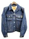 未使用品 リーバイス Levi's 70507 ジャケット デニム Gジャン S ブルー メンズ 【ベクトル 古着】【中古】 160718