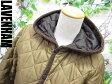 【LAVENHAM/ラベンハム】 シャイニー フード キルティングジャケット 36 レディース 【ベクトル 古着】【中古】 150104