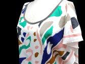 ダイアグラム グレースコンチネンタル Diagram GRACE CONTINENTAL ワンピース ドレス 膝丈 半袖 ポリエステル100% 白 36 夏 レディース 【ベクトル 古着】【中古】 160728