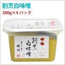 馬場商店 割烹白味噌 国産原料使用 300g 4パック