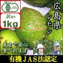 【訳あり】【11/11以降で発送】有機JAS法に基づいて作られた広島国産レモン1kg『鉄腕ダッシュで紹介』