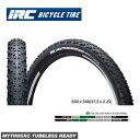 腳踏車 - (IRC) TIRE MTBタイヤ MYTHOS XC TUBELESS READY ミトスXCチューブレスレディ 650 x 54b(27.5 x 2.25)(4571244746031)(1本)