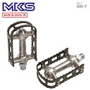 (MKS)三ヶ島 ペダル BM-7 ブラック (左右ペア)(PDL17800)(4560369001743)
