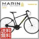 (特価セール)(特典付)クロスバイク 2016年モデル MARIN マリン FAIRFAX SE フェアファックスSE マットブラック
