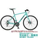 クロスバイク 2020 BIANCHI ビアンキ ROMA 3 DISC ローマ3ディスク CK16 14段変速 SHIMANO 2 X 7 SP 700C 油圧ディスクブレーキ (ペダ..