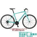 クロスバイク 2020 BIANCHI ビアンキ C・SPORT 1 Cスポーツ1 CK16/BLACK-WHITE FULL MATT(C1) 24段変速 700C Vブレーキ仕様 (ペダル標..