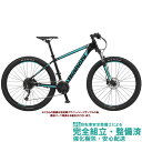 """マウンテンバイク 2020 BIANCHI ビアンキ MAGMA 27.2 マグマ27.2 BLACK/CK16-WHITE FULL GLOSSY(6B) 27段変速 27.5"""" 油圧ディスクブレーキ (ペダル標準装備)"""