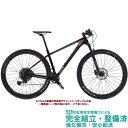 マウンテンバイク 2020 BIANCHI ビアンキ NITRON 9.3 ニトロン9.3 BLACK/GRAPHITE-RED FULL MATT(5L) 12段変速 SHIMANO XT/SLX 29