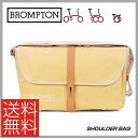 (送料無料)(BROMPTON)ブロンプトン BAG バッグ SHOULDER BAG ショルダーバッグ イエロー(5053099002016)