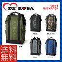 (送料無料※北海道・沖縄県除く)(DE ROSA)デローザ BAG バッグ 4Way backpack 4ウェイバックパック