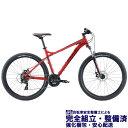 (選べる特典付き!)マウンテンバイク 2020 FUJI フジ NEVADA 27.5 1.9 ネバダ 27.5 1.9 クリムゾン (21段変速)(27.5)(ディスクブレーキ)(ペダル標準装備)