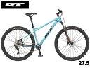 (選べる特典付き!)マウンテンバイク 2021 GT ジーティー AVALANCHE COMP V2 27.5 アバランチェ コンプV2 27.5 アクアブルー 10段変速 27.5