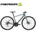 (選べる特典付)クロスバイク 2020 MERIDA メリダ GRAN SPEED 100-D グランスピード100D マットダークグレー(ブルー/ピンク/ブラック)【..