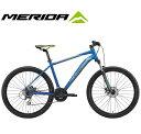 """マウンテンバイク 2020 MERIDA メリダ BIG.SEVEN 20-MD ビッグセブン20MD シルクミディアムブルー(シルバー/イエロー)【EB73】 24段変速 27.5""""ホイール MTB"""