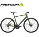 (選べる特典付)クロスバイク 2020 MERIDA メリダ GRAN SPEED 80-MD グランスピード80MD マットフォググリーン(ダークグリーン/ゴールド..