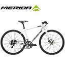 (選べる特典付)クロスバイク 2020 MERIDA メリダ GRAN SPEED 200-D グランスピード200D ホワイト(ダークシルバー/ゴールド)【EW44】 18..