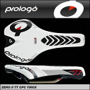 【送料無料※北海道・沖縄県除く】【Prologo】プロロゴ Saddle サドル ZERO 2 TT Tirox CPC ゼロ2 TT Tirox CPC ホワイトブラック 【4716112780384】