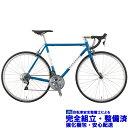 (選べる特典付)ロードバイク 2020 RALEIGH ラレー CRF Carlton-F カールトンF サモアブルー SHIMANO 105 2×11SP 700C クロモリ