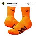 (DeFeet)デフィート ShoesCover シューズカバー Slipstream スリップストリーム Dロゴオレンジ