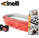 【cinelli】 チネリ BAR TAPE バーテープ Velvet Ribbon Mike Giant ベルベットリボンマイクジャイアント レッド 607023-000002