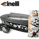 【cinelli】 チネリ BAR TAPE バーテープ Velvet Ribbon Mike Giant ベルベットリボンマイクジャイアント ブラック【607023-000001】
