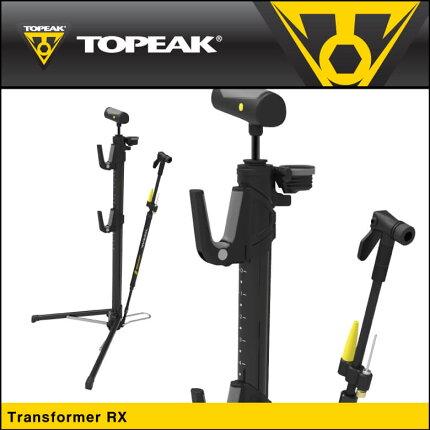 【TOPEAK】トピークPUMPポータブルポンプTransformerRXトランスフォーマーRXブラック【PPF06400】【4712511835243】