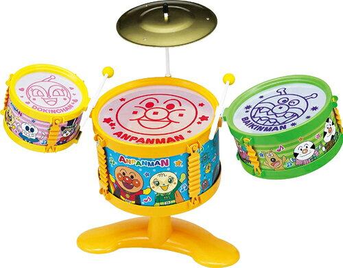 アンパンマンうちの子天才おおきなドラムセット送料無料(北海道・沖縄を除く)アガツマ楽器おもちゃ