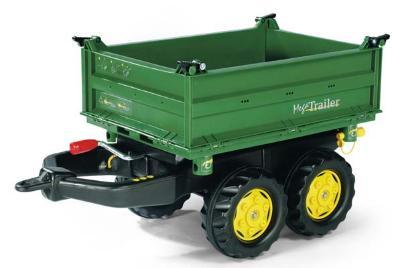 ロリートイズ メガトレーラー ジョンディアー グリーン 122004 【クレジットOK】 ロリートイズ トレーラー ワゴン トラクター ドイツ製
