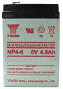 バッテリー 電動用 6V NP4−6 【クレジットOK!】...