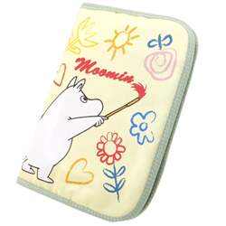 Mumin & little Mii ◎ maternity record book case L ☆( multi-case) mail order☆●