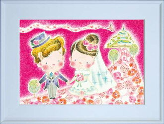內部/外部裝裱藝術薪雅子 MSP-03 插畫藝術明信片存儲貝爾共同