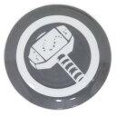 ミニプレート 小皿 マイティソーマーベル サンアート 直径10.5cm アメコミ
