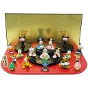 【送料無料】15人 台段雛飾り ひな人形 ディズニーディズニー 吉徳 ひな祭り ギフト雑貨 通販