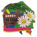 1段 ピンズ ピンバッジ 日本百名山 開聞岳 エイコー コレクションケース入り トレッキング 登山通